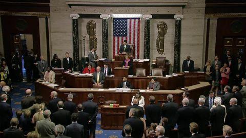 democrats chant wheres the bill orlando shooting _00003417.jpg