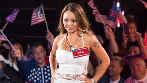 """TV personality Tila Tequila is so enthusiastic about her support for Donald Trump that <a href=""""https://www.youtube.com/watch?v=Hal4LmPRB9I"""" target=""""_blank"""" target=""""_blank"""">she made a YouTube video</a> explaining why she thinks everyone should vote for him."""