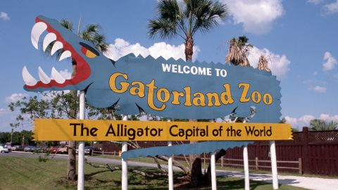 Gatorland bills itself as the Alligator Capital of the World, with thousands of gators that people can see.