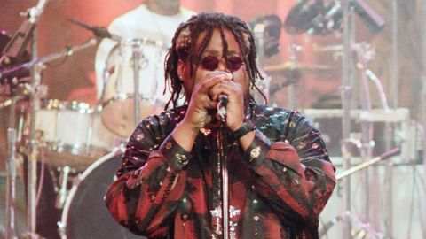 """Attrell Cordes performs on """"The Tonight Show with Jay Leno"""" in June 1993."""