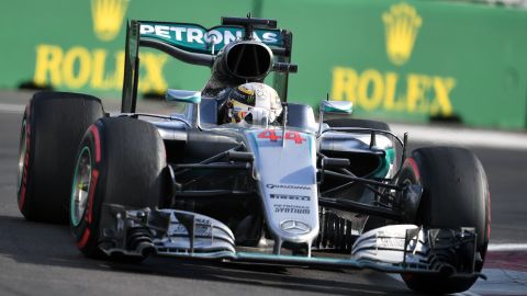 Lewis Hamilton endured a struggle in Baku after starting from 10th on the grid.