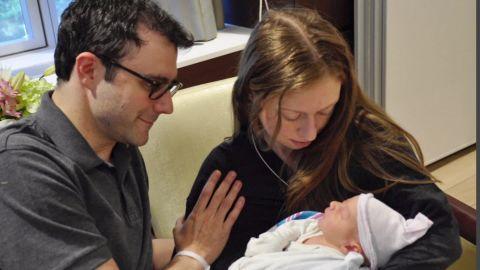 Chelsea Clinton gives birth boy _00004526.jpg