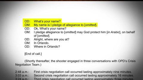 Orlando shooter transcript