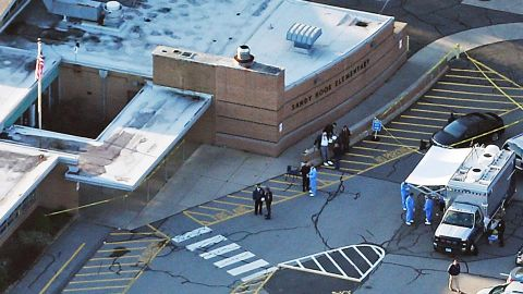 A gunman killed 20 children and six staff members at Sandy Hook Elementary before turning the gun on himself.