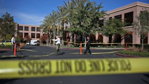 A married couple opened fire on an employee gathering at Inland Regional Center in San Bernardino, killing 14 people on December 2, 2014.