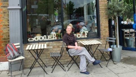 """<a href=""""http://cooperandwolf.co.uk/"""" target=""""_blank"""" target=""""_blank"""">Cooper & Wolf</a> is a family-run cafe and restaurant specializing in home-cooked Swedish food on Chatsworth Road, a popular street in achingly hip east London."""