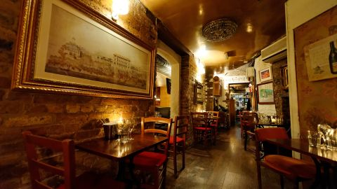 """In the heart of London's theaterland, <a href=""""http://www.balticrestaurant.co.uk/"""" target=""""_blank"""" target=""""_blank"""">Le Garrick</a> has been serving French classics to regulars and tourists for several decades."""