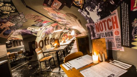"""<a href=""""http://www.belgo.com/"""" target=""""_blank"""" target=""""_blank"""">Belgo Centraal</a> has been serving up a taste of Brussels in London's Covent Garden for nearly two decades. Its menu includes an array of Belgian beers and dishes such as the typical moules marinieres."""