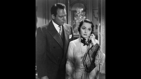 """De Havilland was off the screen for nearly three years while she battled Warner Bros. After winning her court case, she was free to chart her own career and scored her first Academy Award in """"To Each His Own"""" (1946), here with Bill Goodwin. The part required a greater range from her than earlier roles as she matured from a young unwed mother into a older career woman."""
