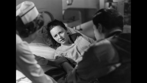 """Hollywood began to tackle more serious subjects in the post-World War II era, and de Havilland's role in """"The Snake Pit"""" was a prime example. She played a young woman who is committed to a mental institution after spiraling into illness. The demanding role proved de Havilland had become one of Hollywood's top dramatic actresses by the late '40s."""