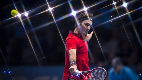 Roger Federer is the most successful men's player of the professional tennis era, with 17 grand slam titles to his name.