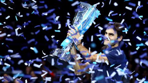 Federer has won the season-ending ATP championship a record six times.