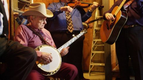 """Bluegrass music pioneer <a href=""""http://www.cnn.com/2016/06/24/entertainment/ralph-stanley-obit/index.html"""" target=""""_blank"""">Ralph Stanley </a>died June 23 at the age of 89, publicist Kirt Webster announced on Stanley's official website. Stanley was already famous in bluegrass and roots music circles when the 2000 hit movie """"O Brother, Where Art Thou?"""" thrust him into the mainstream. He provided a haunting a cappella version of the dirge """"O Death"""" and ended up winning a Grammy."""