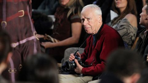 """<a href=""""http://money.cnn.com/2016/06/25/media/bill-cunningham-ny-times-fashion-photographer-dies/index.html"""" target=""""_blank"""">Bill Cunningham</a>, one of the most recognizable figures at The New York Times and in all of New York, died June 25 at the age of 87. Cunningham was a street-life photographer; a cultural anthropologist; a fixture at fashion events; and a celebrity in spite of his desire to keep the camera focused on others, not himself."""