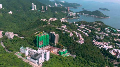 The Deep Water Bay Drive development in Hong Kong.