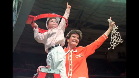 """<a href=""""http://www.cnn.com/2016/06/28/us/pat-summitt-obit/"""" target=""""_blank"""">Pat Summitt</a>, who built the University of Tennessee's Lady Volunteers into a perennial power on the way to becoming the winningest coach in the history of major college basketball, died June 28 at the age of 64. Her death came five years after she was diagnosed with Alzheimer's disease."""