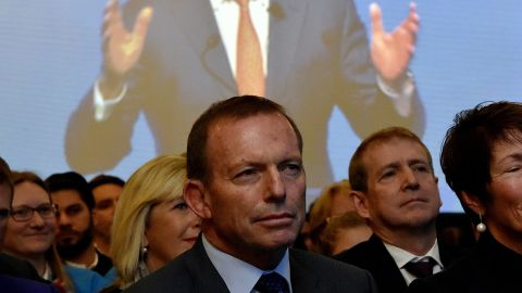 Turnbull took former leader Tony Abbott's job in September 2015, but Abbott remained in Parliament despite the loss and won his seat again on July 2.