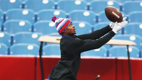 """""""I've always wanted to be a dual sports athlete,"""" Marquise Goodwin told CNN."""