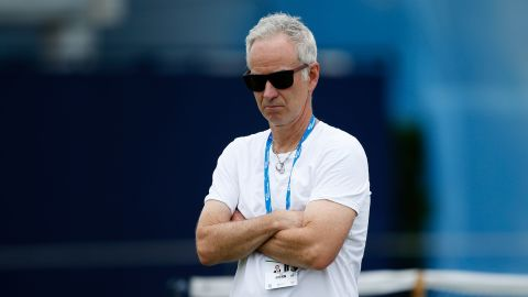 John McEnroe at the Queen's Club championships in 2016.