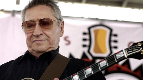 Scotty Moore, a legendary guitarist credited with helping to launch Elvis Presley's career, died at the age of 84 on June 28. Moore is a member of the Rock and Roll Hall of Fame, and he was ranked No. 29 on Rolling Stone's list of the 100 greatest guitarists.