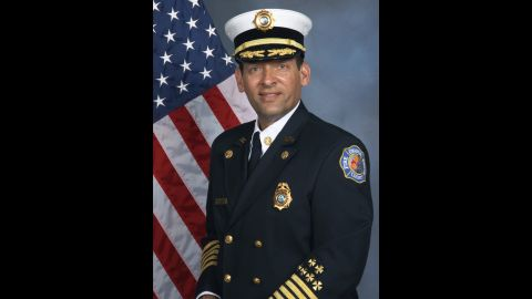 Orange County Fire Chief Otto Dzod