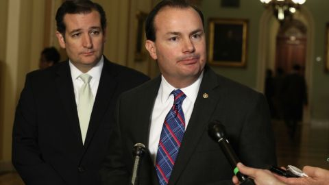 Sens. Ted Cruz (2012) and Mike Lee (2010) won their Senate seats with strong tea party support.