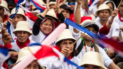 """Despite remaining popular in the Philippines, analysts have speculated the new, unpredictable president <a href=""""http://www.cnn.com/2016/05/10/opinions/duterte-us-philippines/"""" target=""""_blank"""">could lead to cooler ties</a> between the United States and the Philippines."""