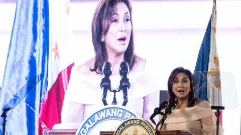 """Philippines <a href=""""http://cnnphilippines.com/news/2016/06/30/LOOK-Leni-Robredo-takes-oath-of-office-as-Vice-President-of-the-Philippines.html"""" target=""""_blank"""" target=""""_blank"""">Vice President Leni Robredo</a> also took the oath of office on Thursday, calling for unity across the country following what became a divisive election."""