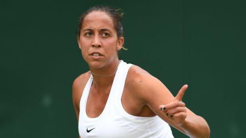 America's Madison Keys, seeded 9, won in three sets against former semifinalist Kirsten Flipkens of Belgium.