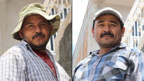 Brothers Jose Luis Gonzales and Juan Carlos Gonzales both worked in the U.S. at one point. They now live in Mexico, but still hope Donald Trump doesn't win.