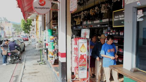 Mexican families depend on money transfers from the U.S. for daily staples.