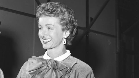 """Actress <a href=""""http://www.cnn.com/2016/07/04/entertainment/obit-noel-neill/index.html"""" target=""""_blank"""">Noel Neill</a>, who played Lois Lane in the 1950s TV version of """"Superman,"""" died July 3 at the age of 95."""