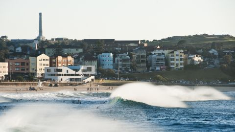 """Many of Australia's surf clubs were built more than a century ago and efforts are underway across the nation to renovate a number of these unique pieces of architecture. North Bondi Surf Life Saving Club is one of the nation's oldest clubs and its recent award-wining renovation was designed to reflect the waves of Sydney's iconic Bondi Beach. """"Its organic curves attempt to give an eroded quality of having been shaped by the waves,"""" says one of the architects involved in the new clubhouse design, Peter Colquhoun."""