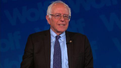 Bernie Sanders Wolf interview