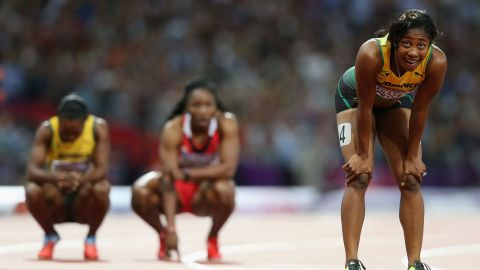 """Fraser-Pryce says she's """"excited"""" for Rio despite negative headlines about the Brazilian city's preparations. """"I'm hoping it's exaggerated a bit,"""" she says. """"Sometimes, when you get there, it's not as bad as how it was in the media.""""<br />"""