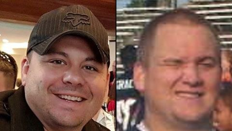 Blane Salamoni and Howie Lake II, two police officers involved in the shooting of Alton Sterling, 37, outside a convenience store on July 5, 2016 in Baton Rouge, Louisiana