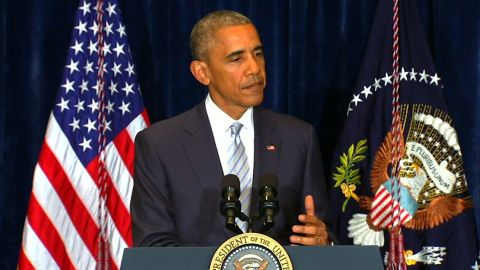 Obama comments on police shootings