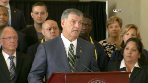 Dallas Mayor Mike Rawlings says they believe Dallas police shooter Micah Xavier Johnson acted alone