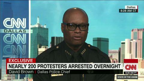 dallas police chief david brown protesters sot_00003706.jpg