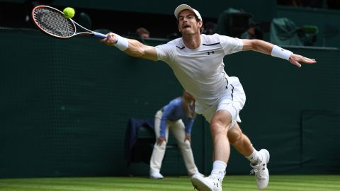 But it was Murray who held his nerve in the second set tiebreak to win it 7-3 and move to within touching distance of the title.
