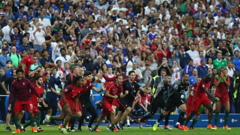 Portugal had only qualified for the knockout phase by coming third in its group.