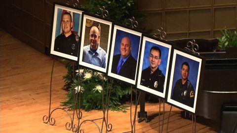 Slain Dallas Officers
