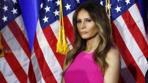 Trump's wife, Melania