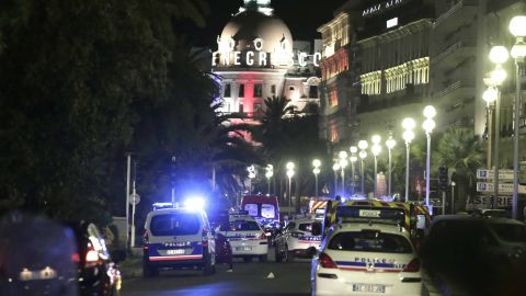 """""""I wasn't sure what to do, in that situation. No one knew what was going on. We just knew we had to run for our lives,"""" said Paul Delane, an American who witnessed the attack."""