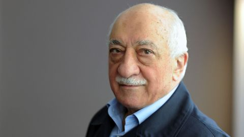 """(FILES) This handout file picture released on September 24, 2013 by Zaman Daily shows exiled Turkish Muslim preacher Fethullah Gulen at his residence in Saylorsburg, Pennsylvania.   The US-based cleric was accused by Ankara of orchestrating Friday's military coup attempt but he firmly denied involvement, also condemning the action """"in the strongest terms"""". / AFP PHOTO / ZAMAN DAILY / SELAHATTIN SEVI / RESTRICTED TO EDITORIAL USE - MANDATORY CREDIT """"AFP PHOTO/ZAMAN DAILY/SELAHATTIN SEVI"""" - NO MARKETING NO ADVERTISING CAMPAIGNS - DISTRIBUTED AS A SERVICE  SELAHATTIN SEVI/AFP/Getty Images"""