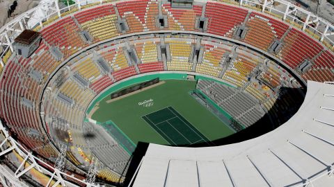 Rio's tennis center will be the venue for the world's top players.