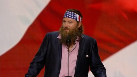 Willie Robertson speaks at the 2016 Republican National Convention