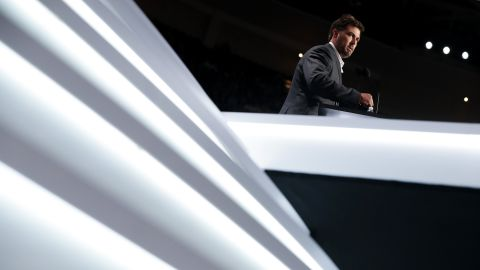 """Marcus Luttrell, a former Navy SEAL who was awarded the Navy Cross for his service in Afghanistan, spoke about the need for an elite military. The convention's theme for Monday was """"Make America Safe Again."""""""