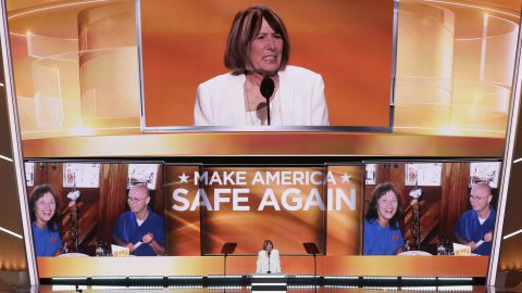 """Patricia Smith, mother of Benghazi victim Sean Smith, told the crowd in Cleveland, """"I blame Hillary Clinton personally."""" Clinton, the Democratic Party's presumptive nominee, was secretary of state when the attack occurred in Libya in 2012."""