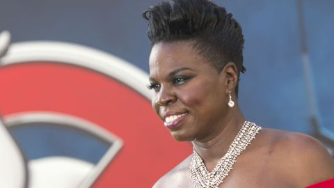 """Actress Leslie Jones attends the Los Angeles Premiere of """"Ghostbusters"""" in Hollywood, California, on July 9, 2016."""